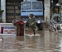 J&K floods: 17 feared dead, Rajnath promises all help to CM Mufti