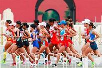 Jaisha breaks Indian national record in women's marathon