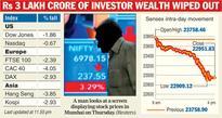 Stocks catch global virus