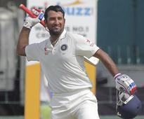 Pujara's comeback ton propels India to 292/8 on day two