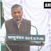Didn't say anything not in public domain: VK Singh