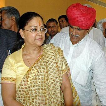 Vasundhara Raje: Where are the big guns of the Congress hiding?