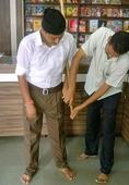 New RSS uniform is a long stretch over khaki knickers