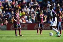 Barcelona fall to shock defeat against Valladolid
