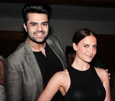 PIX: Sophie Choudry, Elli Avram party with Manish Paul
