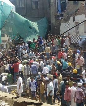 One killed, several trapped as 2-storey building collapses in Mumbai