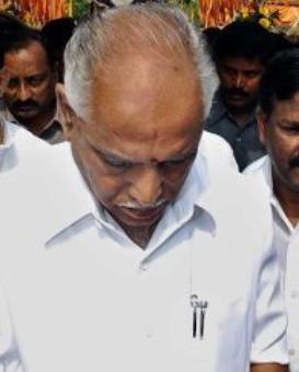 What is holding Yeddyurappa's return to the BJP?