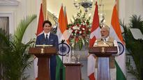 Trudeau in India: Won't tolerate those who challenge our sovereignty, unity and integrity, says PM Modi