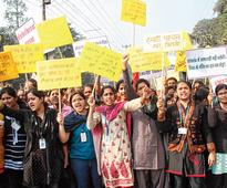 Centre project faces protest