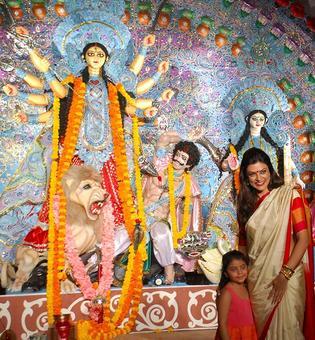 PIX: Stars attend Durga Puja celebrations
