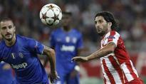 Olympiakos beats Juventus 1-0 in Champions League