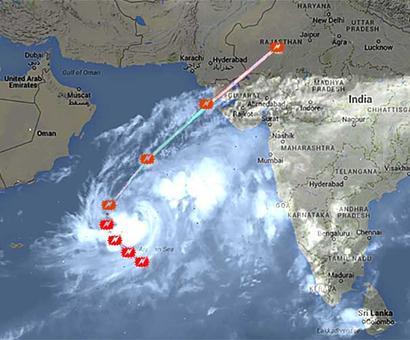 Over 17,000 people evacuated as Nilofar nears Gujarat