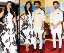 Sonam turns Disney beauty as Fawad charms all with his regal looks at #Khoobsurat trailer launch