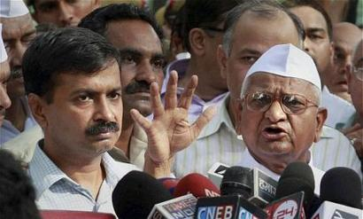 Kejriwal to attend Hazare's fast but won't share stage