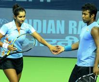 Paes, Sania book second round berths at US Open