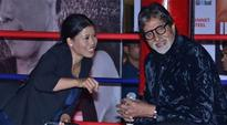 Big B unveils Mary Kom's autobiography