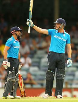 Tri-Series PHOTOS: Taylor-made victory for England!