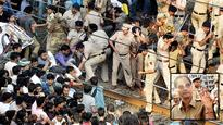 One rupee railway clinics come to rescue of injured protesters and railway police